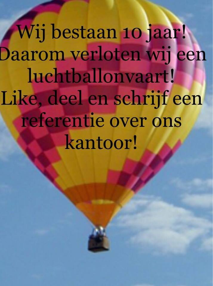 Foto ballonvaart actie